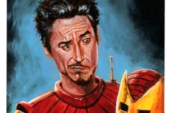 Robert Downey Jr. Bad Helmet Hair Day