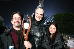 Mark and Beth with the Lord of Chaos
