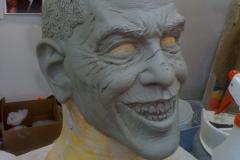 Zombie Obama 3/4 view
