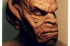 Demon Mask Sculpture